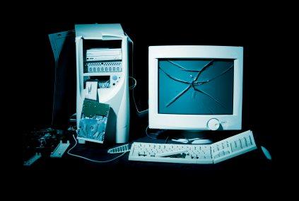 Kaputter Computer