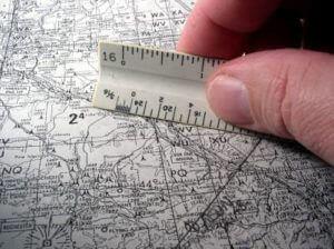 Entfernung auf Landkarte messen - (Foto: iStockphoto/Digiphoto)