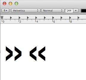 Spitze Anführungszeichen (Guillemets) auf dem Mac