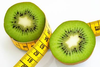 Kiwi zum Abnehmen - (Foto: iStockphoto/winterling)