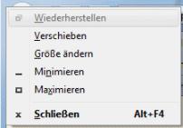 Windows fenster mit tastatur platzieren for Fenster verschieben
