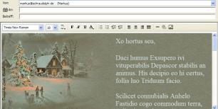 Outlook express gru karten per email zu besonderen for Weihnachtskarten per email kostenlos