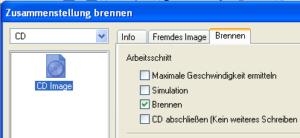 ISO Image mit Nero Burning ROM brennen