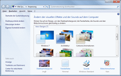 Windows 7 Desktop Anpassen