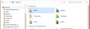 Windows 8 Dieser PC