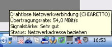WLAN, DHCP funktioniert nicht