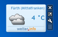 wetterbericht in windows 7 und 8