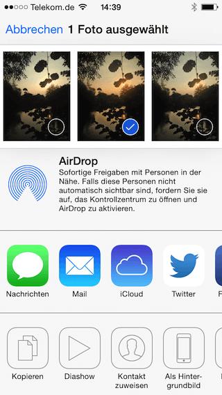 iPhone Hintergrundbild einrichten
