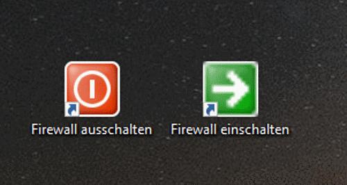 Firewall Symbole