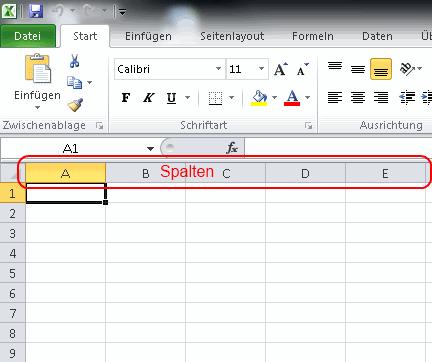 Excel lernen zellen finden zahlen addieren durchschnitt for Tabelle mit 9 spalten