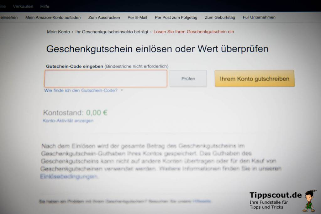 amazon gutscheincode versand kostenlos