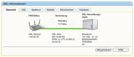 test übertragungsgeschwindigkeit internet