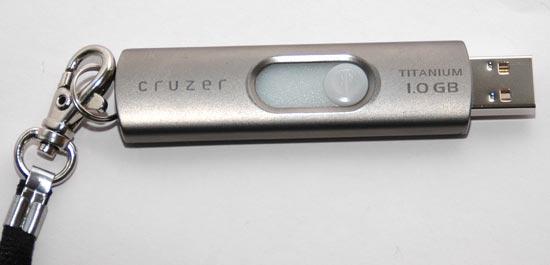 USB Stick mit 1 GByte Kapazität - (Foto: Martin Goldmann)
