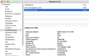 «««Mac: graphics card find out - so it is simple
