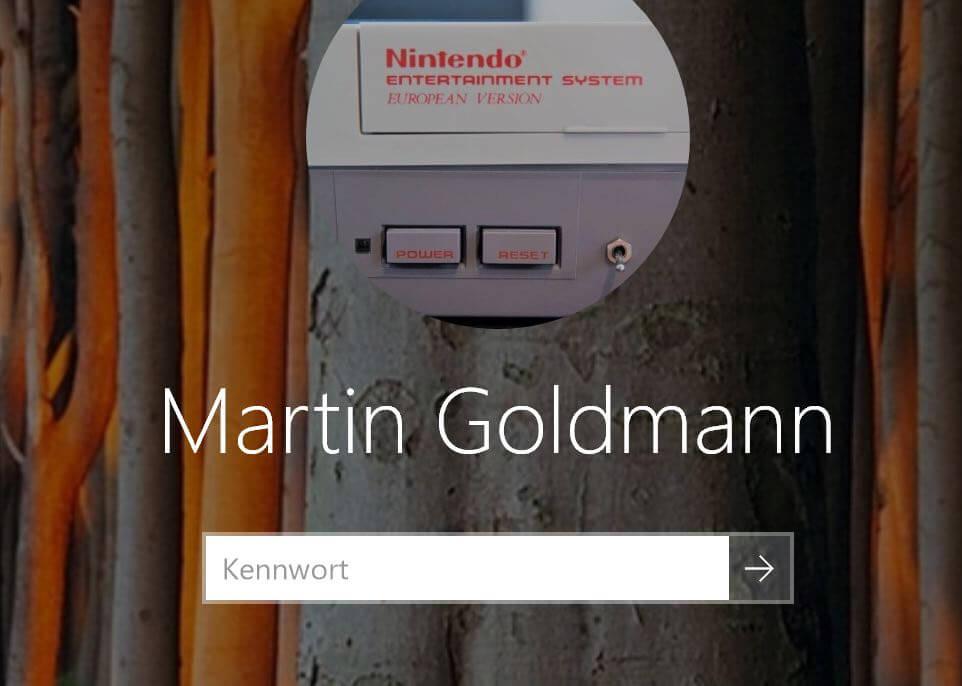 Profilbild ändern in Windows 10