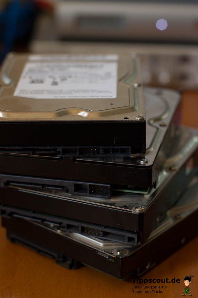 Wenn Sie Festplatten verkaufen oder verschenken, sollten Sie die Daten wirklich zuverlässig löschen.