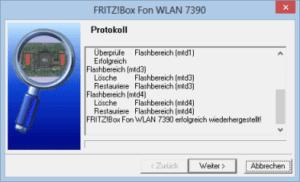 Fritzbox Wiederherstellungstool