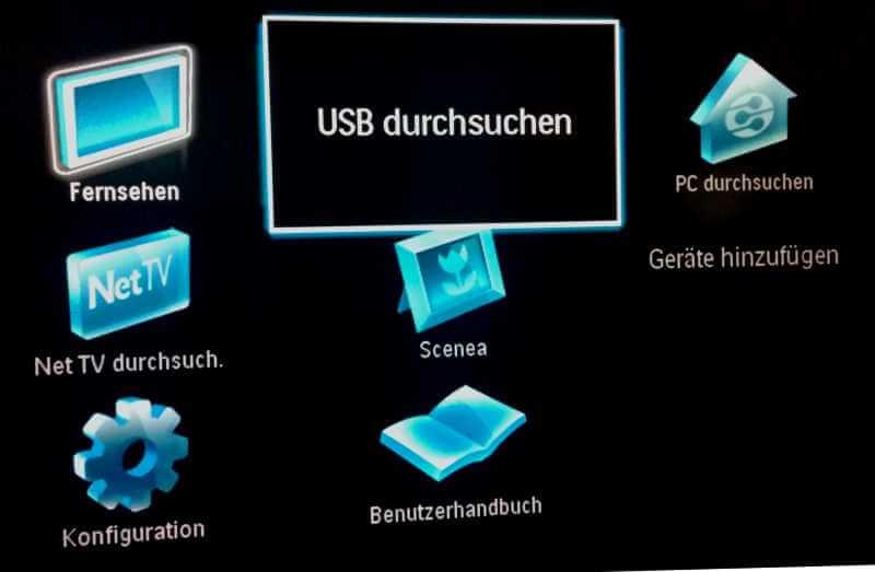 Anzeige eines USB-Stick
