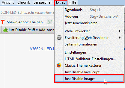 Just Disable Images