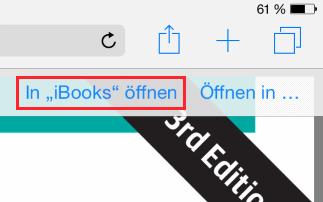 Buch in iBooks übertragen
