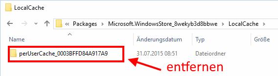 Windows store ist verschwunden, Aktivierung mit Powershell usw. geligt nicht, da der...