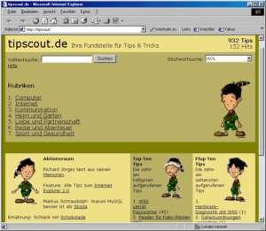 Erstes Design Tippscout