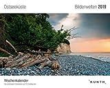 Bilderwelten Ostseeküste - Kalender 2019 - Kunth-Verlag - Postkartenkalender - Wochenkalender mit...