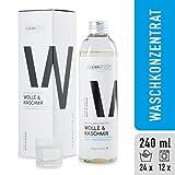 CLEANATICS Wolle & Kaschmir Intensivpflege mit Lanolin - Feinwaschmittel mit rückfettender Wirkung...