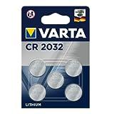 Varta Batterien Electronics Lithium Knopfzelle 3V Batterie 5er Pack Knopfzellen in Original 5er...