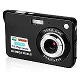 CamKing Digitalkamera, 2,7 Zoll TFT LCD HD Mini Digitale Kompaktkameras, 18 MP HD Zoom Videokamera...