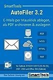 SmartTools AutoFiler 3.2 für Outlook 2016/2013/2010 (32- und 64-Bit), 2007, 2003 und Office 365 -...