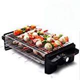 NANXCYR Barbecue-Topf Koreanische Art BBQ Haushalt Elektrischer Grill-Ofen Nicht-rauchende Non-Stick...