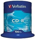 Verbatim CD-R 52x 100PK Spindle Datalife 700MB