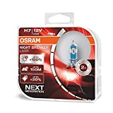 Osram Night Breaker Laser H7 next Generation, +150% mehr Helligkeit, Halogen-Scheinwerferlampe,...