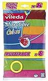Vileda Microfaser Allzwecktücher Colors Multipack Microfaser 8er Pack