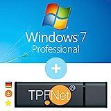 MS Windows 7 Pro 32 bit & 64 bit - Original Lizenzschlüssel mit bootfähigen USB Stick von - TPFNet
