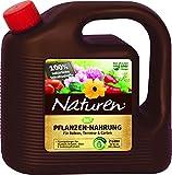 Naturen Bio Pflanzen-Nahrung, Rein pflanzlicher, veganer Universal-Flüssigdünger für...