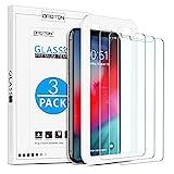 OMOTON [3 Stück] Schutzfolie für iPhone 11 Pro Max und iPhone XS Max [6.5 Zoll], Panzerglasfolie...