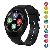 Smart Watch,Gearlifee Bluetooth Touchscreen Polshorloge ondersteuning SIM TF kaart, met...