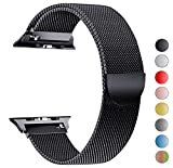 Tervoka Ersatzarmband kompatibel mit Apple Watch 40mm 38mm | Edelstahl Armband | Smartwatch...