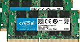Crucial CT2K32G4SFD8266 64GB Kit (32GB x2) Speicher (DDR4, 2666 MT/s, SODIMM, 260-Pin, 1.2V, CL19)