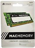 Corsair CMSA8GX3M2A1333C9 Apple Mac 8GB (2x4GB) DDR3 1333Mhz CL9 Apple Zertifiziert SO-DIMM Kit