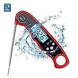 HD HARUDONE Thermometer, Digital Waterproof Instant lesen Fleisch-Lebensmittel-Thermometer zum...