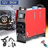 Triclicks Air Diesel Heizung Air Standheizung 12V 5KW Diesel Luftheizung Kraftstoff Auto Heizung...