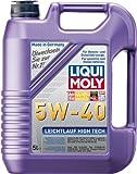 LIQUI MOLY 3864 Leichtlauf High Tech Motoröl 5 W-40 5 L