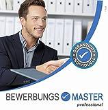 BEWERBUNGSMASTER professional 2019 CD (Windows) // Erfolgreiche Bewerbung schreiben - Lebenslauf,...