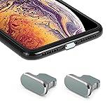 iMangoo Staubschutzstöpsel 2er Pack Ladebuchse Stecker mit Tragetasche kompatibel mit iPhone 11 Pro...