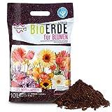 Green-PIK LAT BioERDE für Blumen – Ökologische Wurmkompost Fertigmischung I Nährstoffe für...