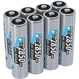 ANSMANN Akku AA Typ 2850mAh NiMH 1,2V - Mignon AA Batterien wiederaufladbar, mit hoher Kapazität...