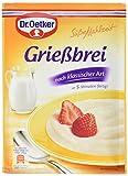 Dr. Oetker Grießbrei, 12er Pack (12 x 92 g)